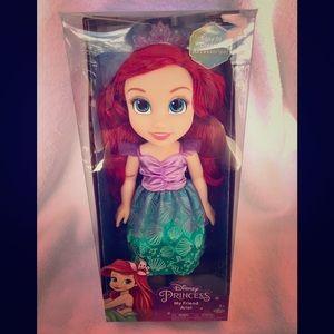 Disney princess my friend Ariel large doll NEW